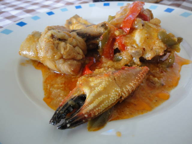 receta nécoras con pollo