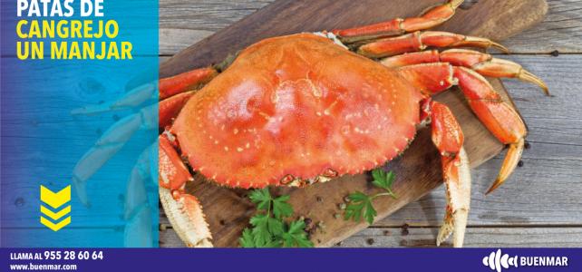 Patas de cangrejo: un manjar que está de moda